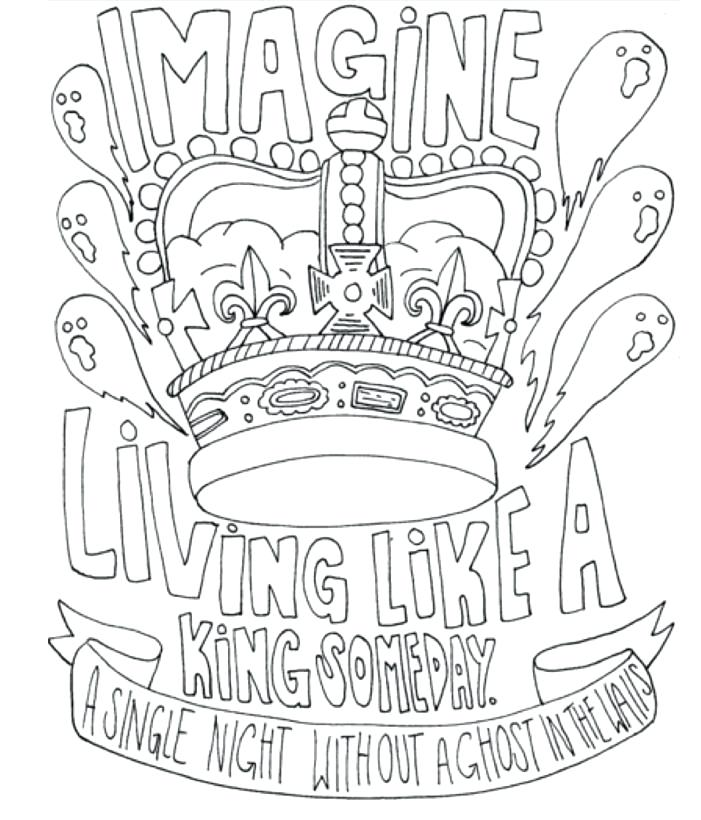 Coloring Pages Of Bands