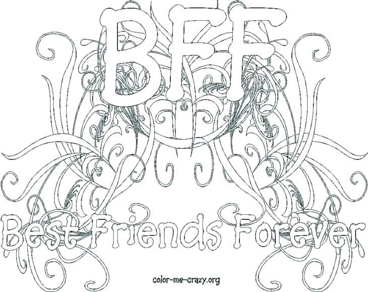 730x579 Best Friends Coloring Pages Best Friends Coloring Pages Good Best