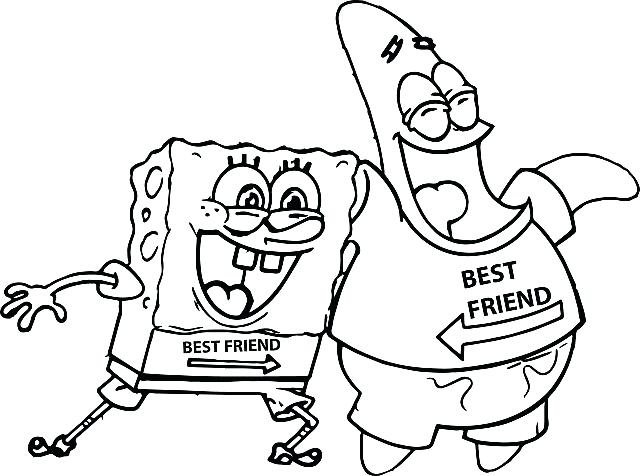 640x476 And Best Friend Forever Coloring Pages To Download Print For Free