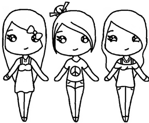 500x413 Bff Coloring Pages Best Friends Forever Coloring Page