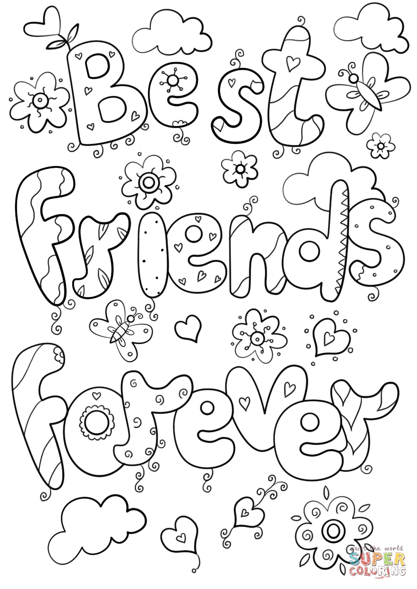 849x1200 Bff Coloring Pages Best Of Best Friends Forever Coloring Page