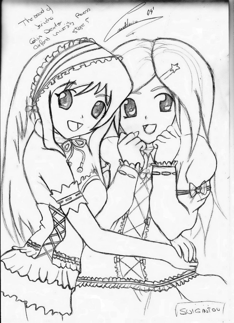 761x1049 Best Friends Forever Coloring Pages For Girls Free