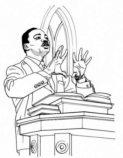 430x550 Black History Month Coloring Pages