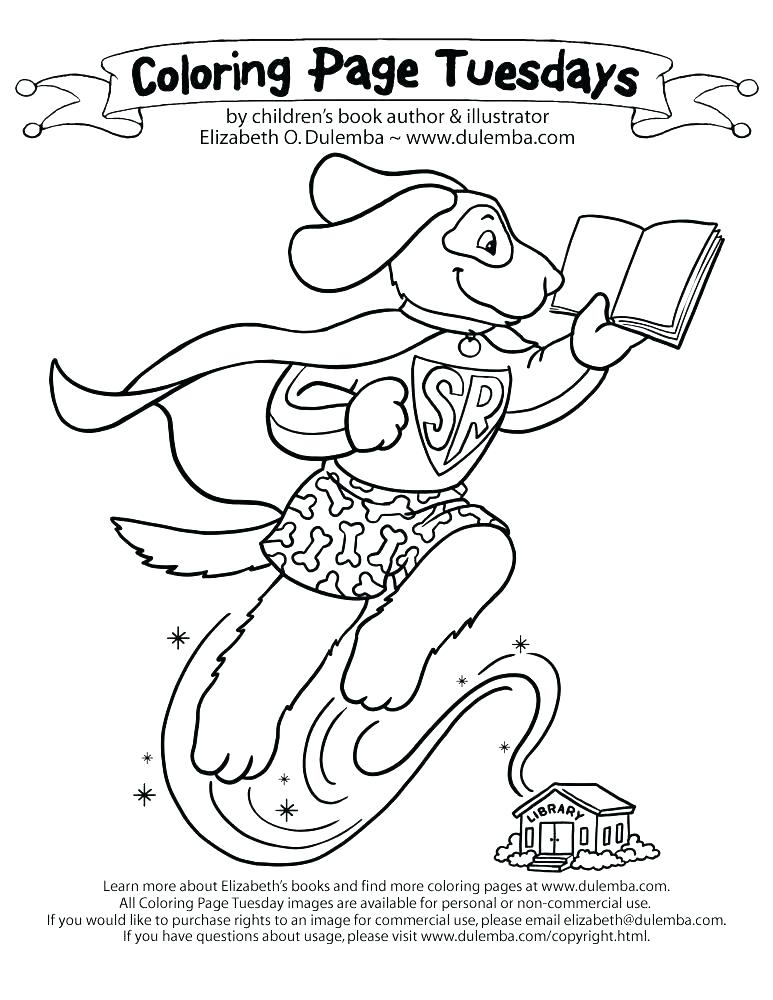 773x1000 Library Coloring Page Reading Book Alone At Library Coloring Pages
