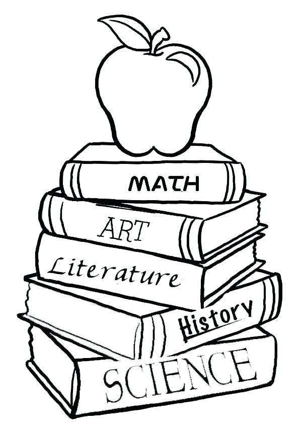 600x879 Coloring Pages Of Books