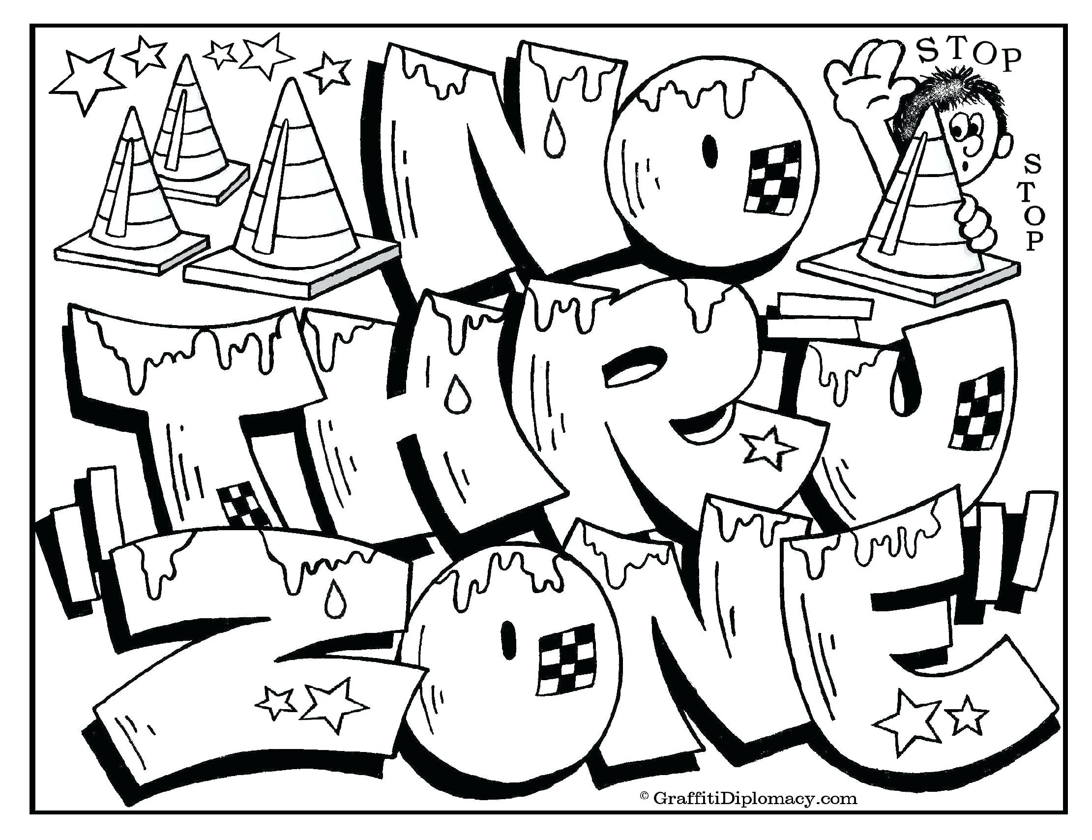 2221x1708 Free Coloring Page For Kids Printable Cool Bubble Letter Names