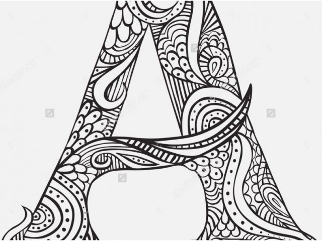 640x480 Letter A Coloring Pages Graphic Best The Lettercoloring Pages