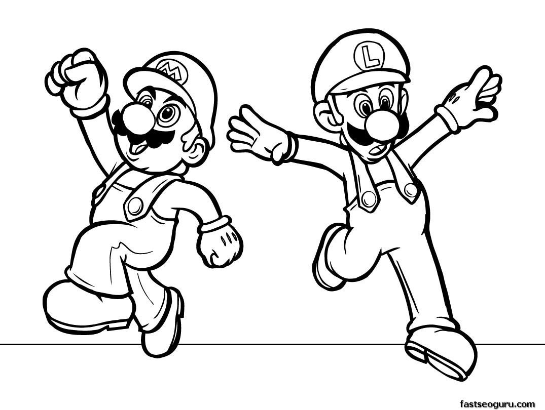 1075x810 New Cartoons Images For Colouring Kids Cartoon Coloring Pages