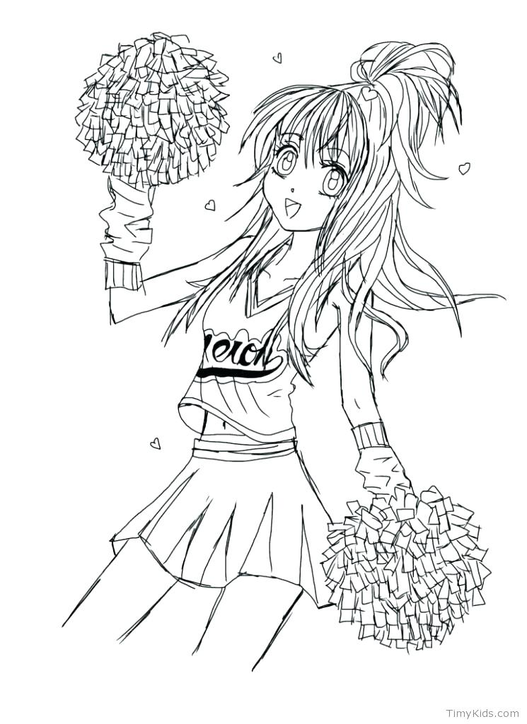 745x1024 I Am A Cheerleader Coloring Page Twisty Noodle I Am A Cheerleader