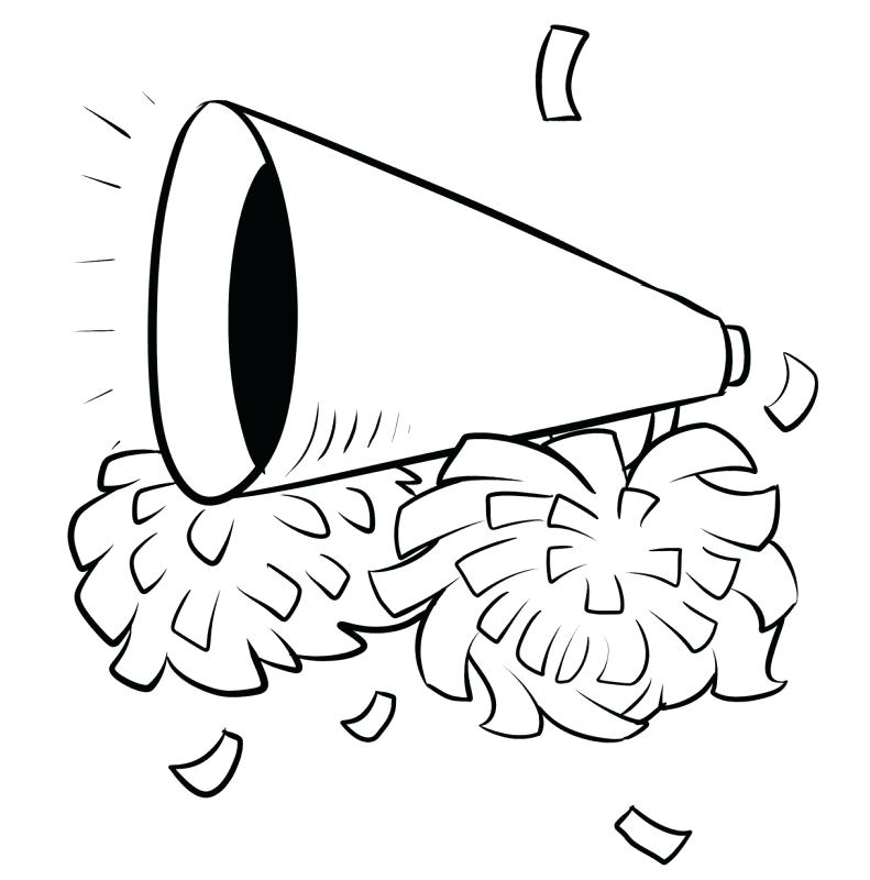791x800 Cheer Coloring Pages Cheerleader Coloring Pages Click The Pom Poms