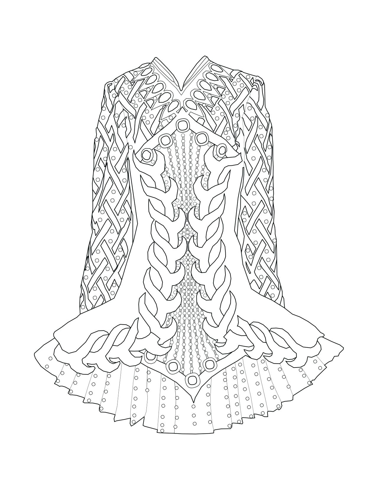 1280x1656 Edge Irish Dance Coloring Pages I Love Dancing Colouring Page Cool