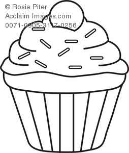 Coloring Pages Of Cupcakes And Cookies at GetDrawings.com ...