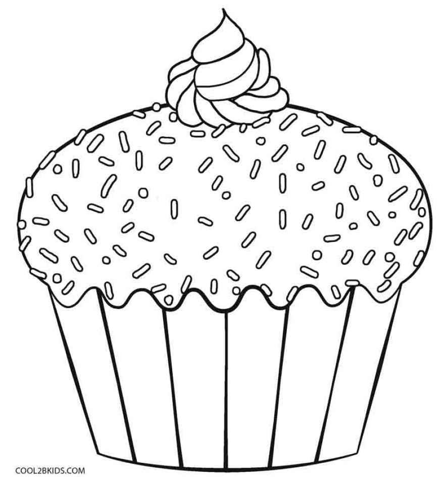 883x960 Liberal Cupcake Coloring Pages To Print Get This Printable