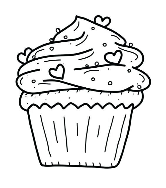 564x639 Cookie Coloring Pages Printable