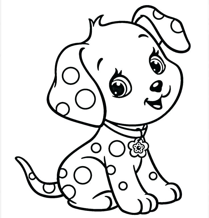 735x768 Puppy Coloring Pages Puppy Coloring Pages Plus Puppy Coloring