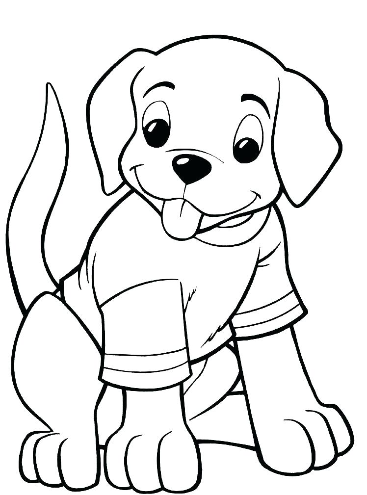 748x1009 Puppy Pics To Color Puppy Color Page Printable Puppy Coloring