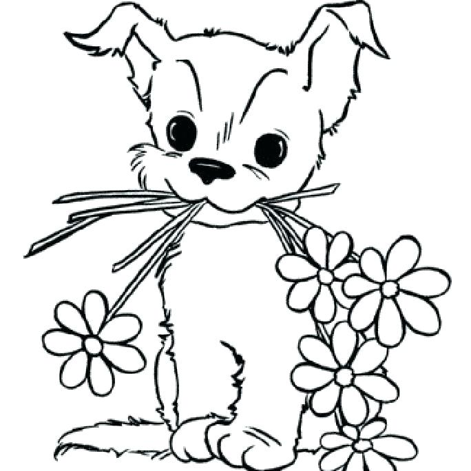 684x684 Baby Puppy Coloring Pages Baby Puppy Coloring Pages Baby Puppy
