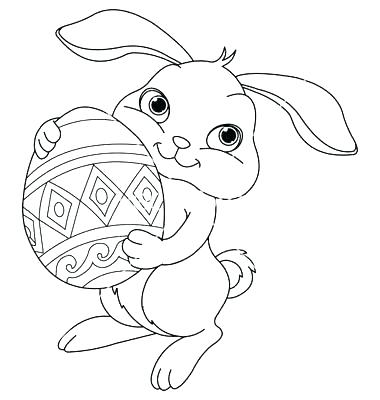 380x400 Cute Bunny Coloring Pages Print Cute Bunny Coloring Pages