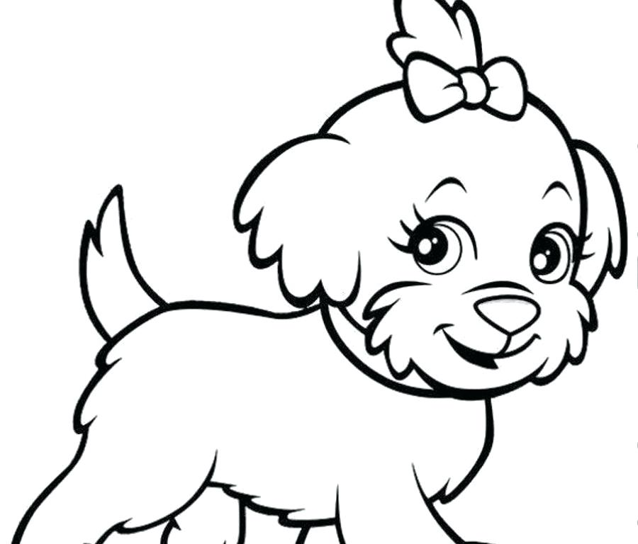 900x768 Coloring Pages Of Puppys Free Online Cute Puppy Coloring Pages