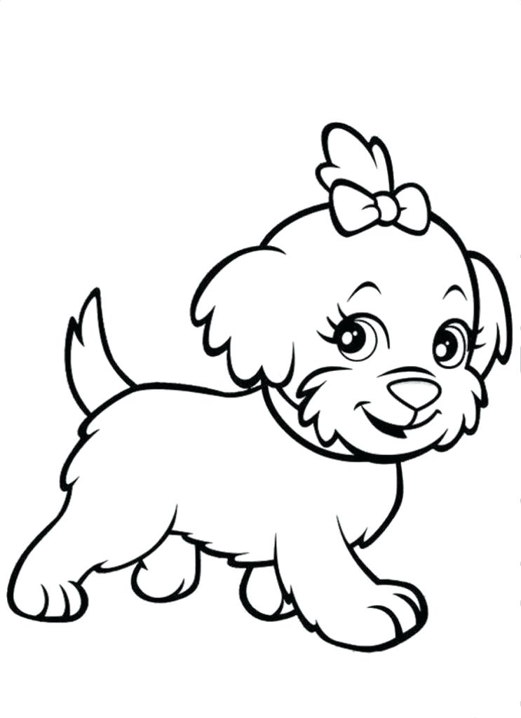 743x1024 Coloring Pages Puppies Puppy Coloring Page Coloring Pages Cute