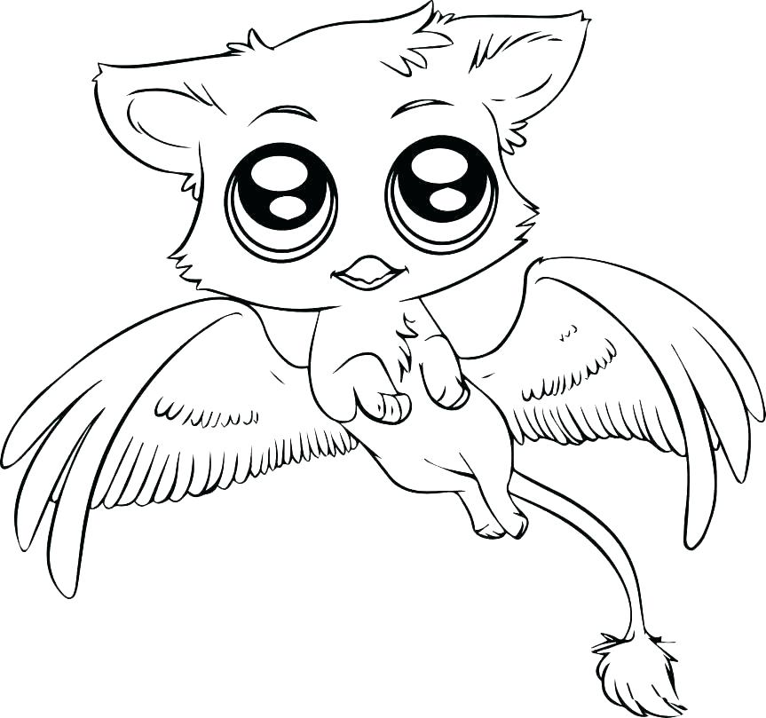 863x809 Cute Coloring Pages Of Animals Coloring Pages Cute Animals Cute
