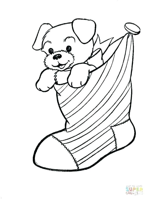 618x836 Cute Dog Coloring Pages Free Printable Cute Dog Smiling Look