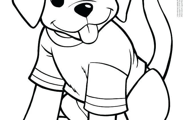 640x420 Puppy Coloring Pages To Print Puppy Dog Coloring Page Top Dog