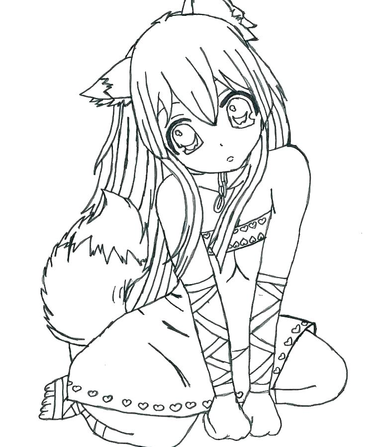 762x900 Cute Girl Coloring Pages Cartoon Girl Coloring Pages Cartoon Girl