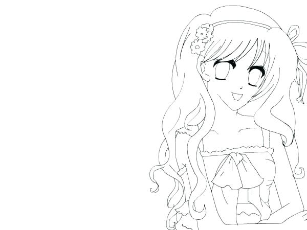 600x450 Cute Girl Coloring Pages Girl Coloring Page Cute Girl Coloring