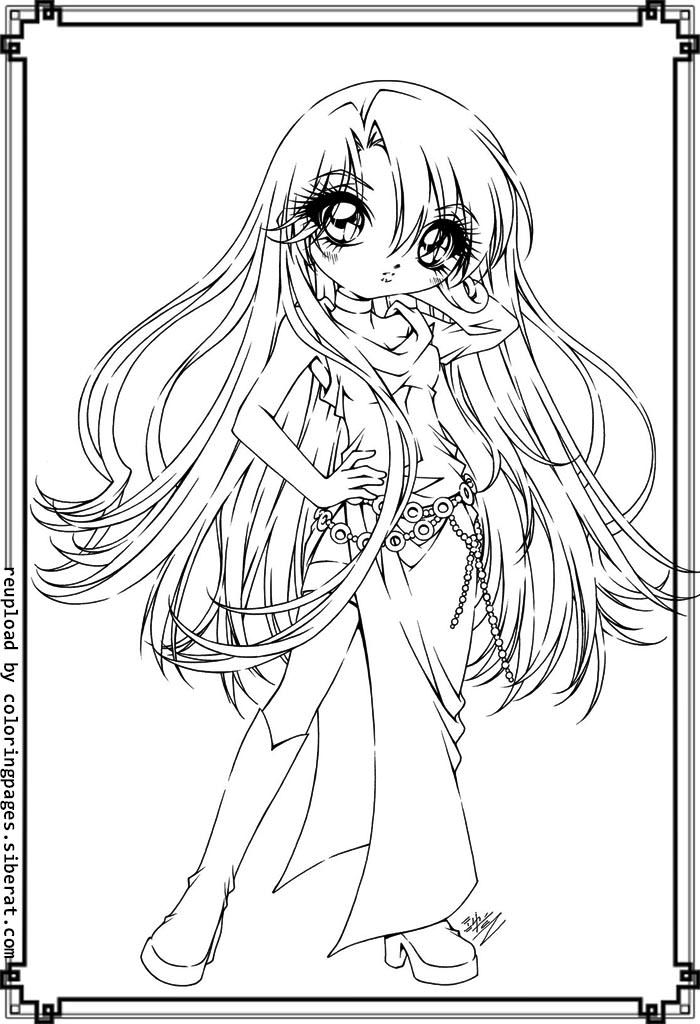 700x1024 Cute Anime Girls Coloring Pages Cute Anime Coloring Pages Cat