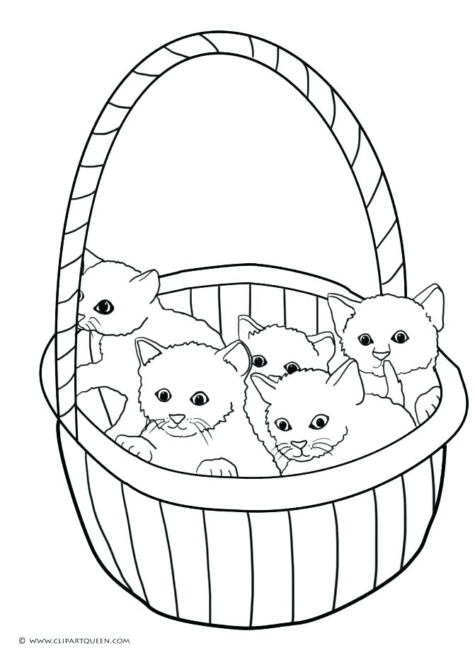 671x950 Coloring Pages Kittens Kittens Coloring Pages Pictures Of Photo