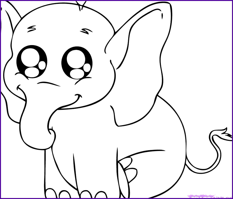 Coloring Pages Of Cute Things