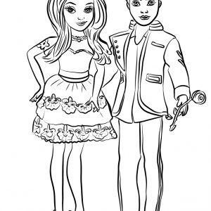 300x300 Coloring Pages For Descendants Copy Uma From Descendants Coloring