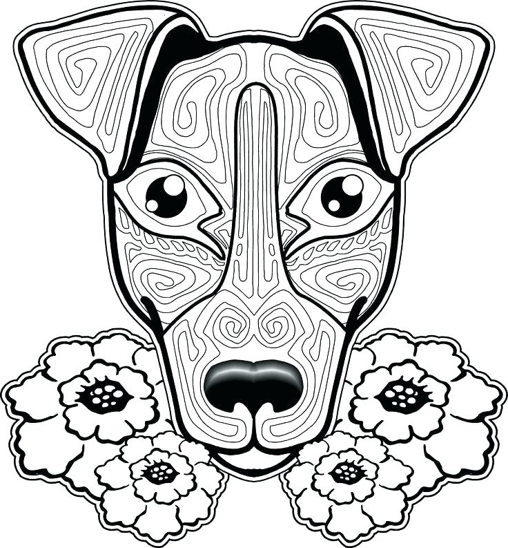 736x793 Coloring Pages Dogs Free Coloring Pages Dogs Dog Coloring Pages