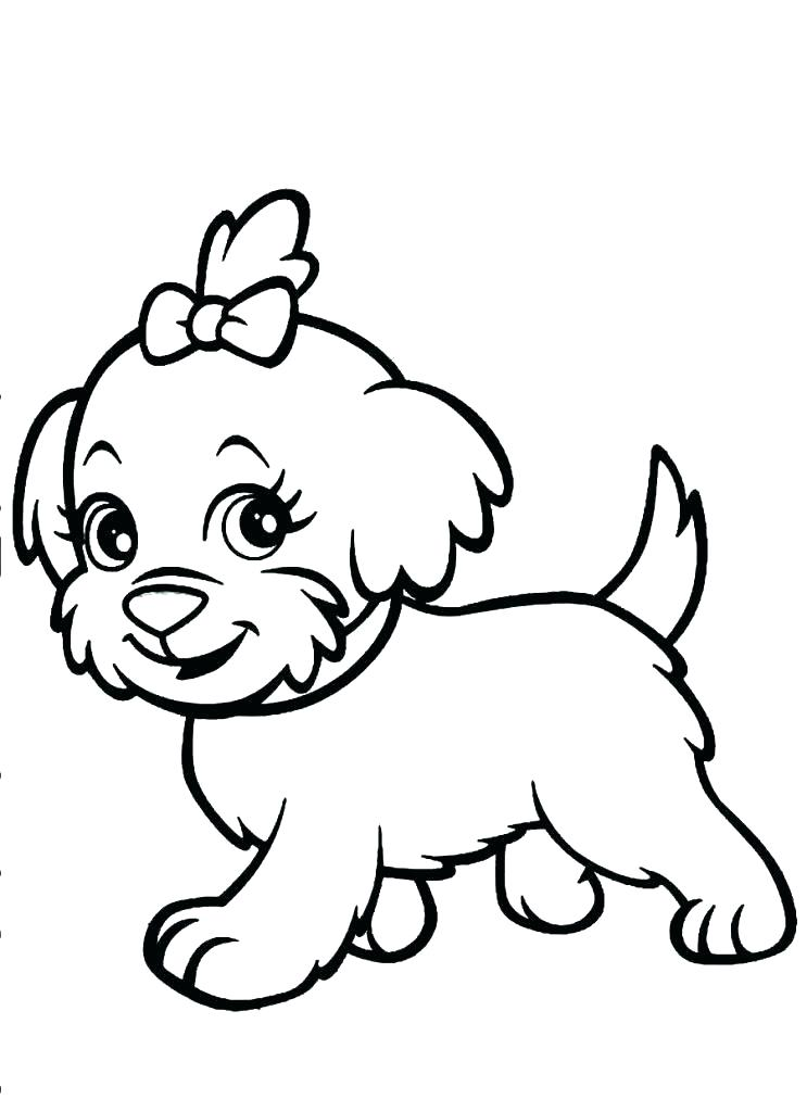 743x1024 Coloring Pages Dog