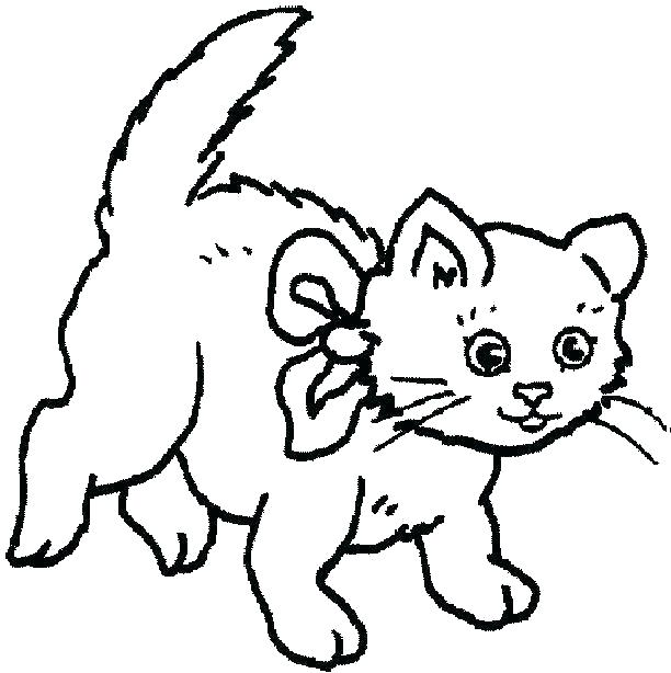 612x614 Cat Coloring Pages Free Printable Also Dog Printable Coloring