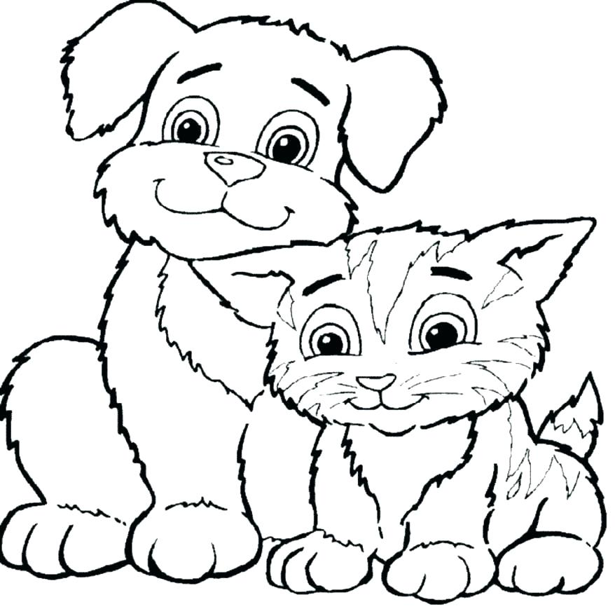 878x869 Kids Coloring Pages Dogs Teleks Site