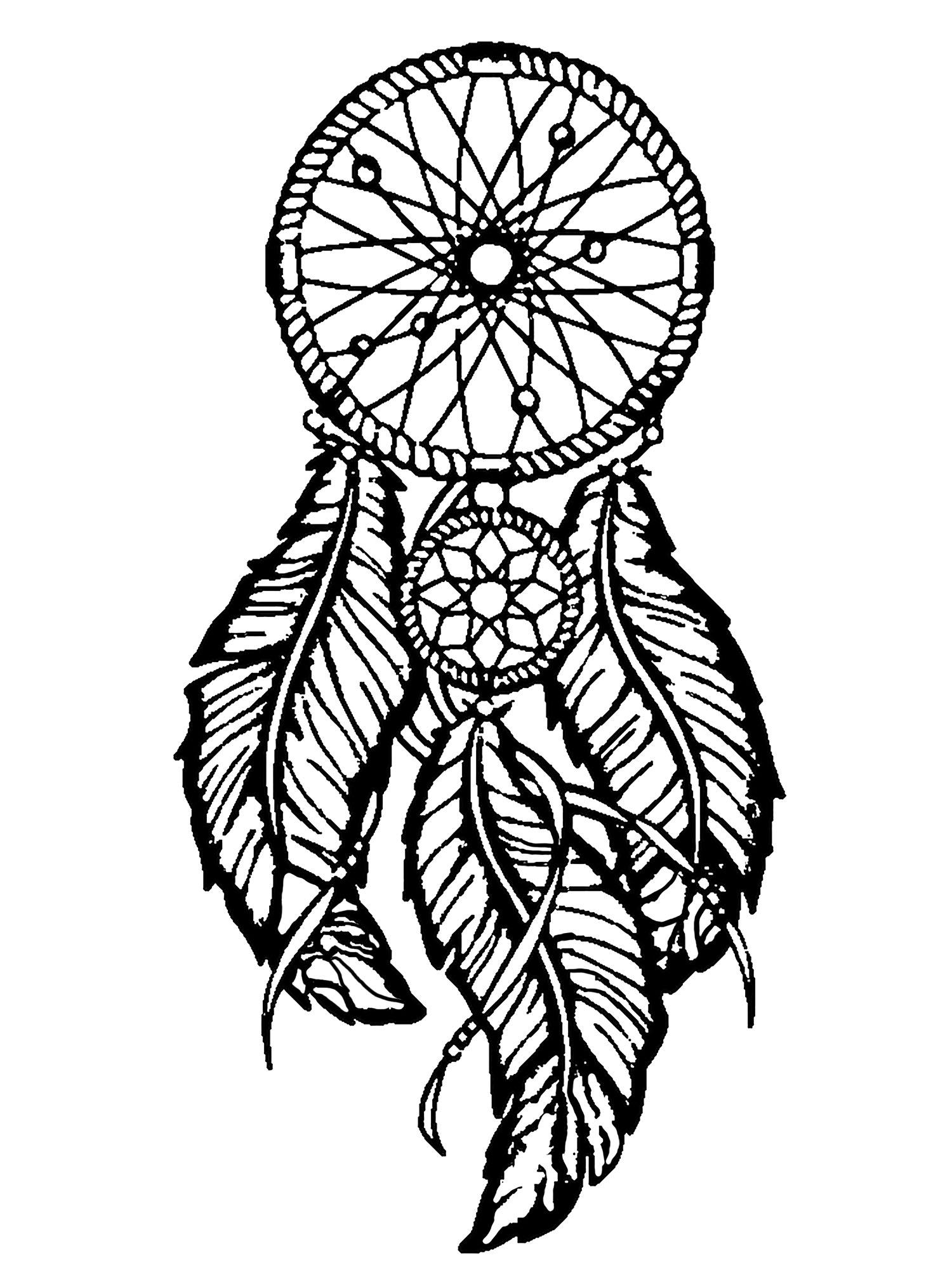 1500x2026 Dreamcatcher Big Feathers