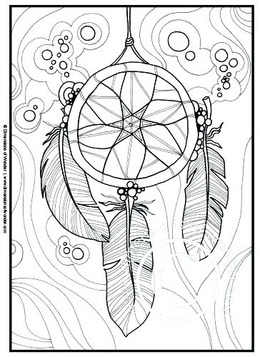 364x500 Dream Catcher Coloring Book As Well As Native Coloring Pages Dream