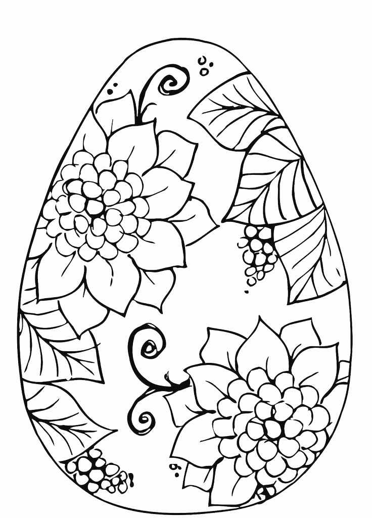 736x1025 Easter Egg Designs Coloring Pages Images Easter Egg Coloring Pages