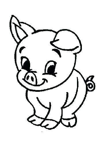 369x490 Farm Animal Coloring Pages For Preschoolers Free Farm Animal Farm