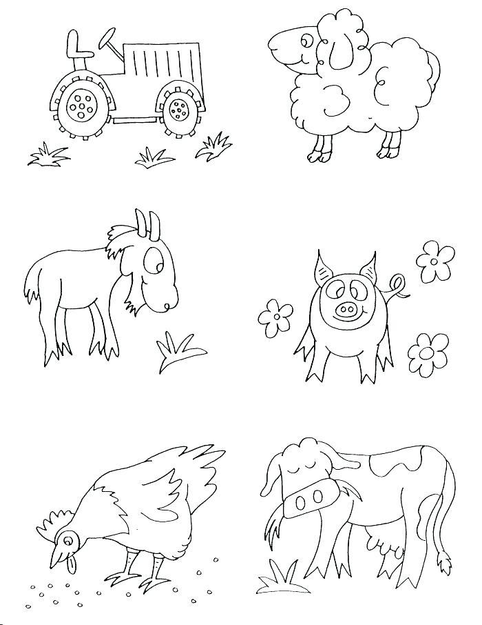 700x906 Farm Color Pages Farm Farm Animal Coloring Sheets For Preschool