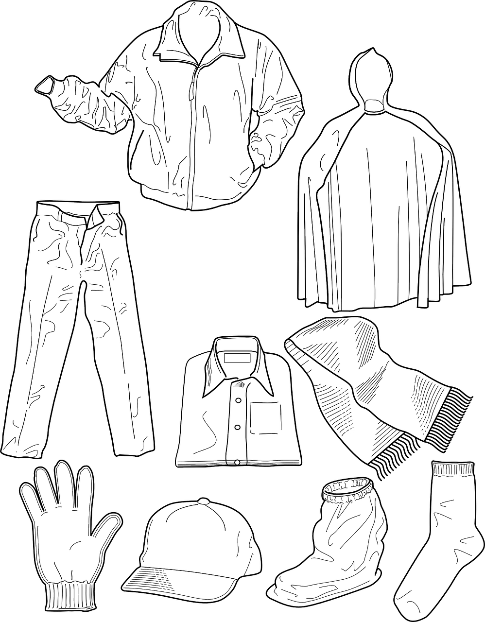 Coloring Pages Of Fashion Dresses