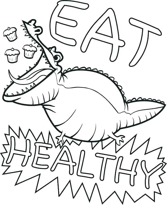 569x700 Coloring Pages Food Healthy Food Coloring Page Healthy Food
