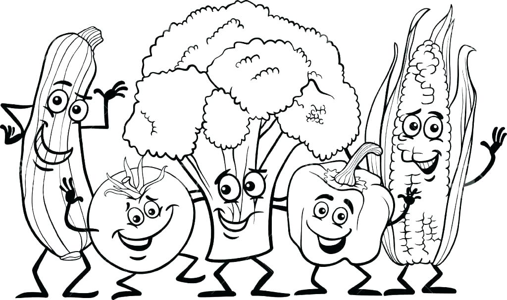 1024x607 Coloring Pages Food Fast Food Coloring Pages Colouring Pages