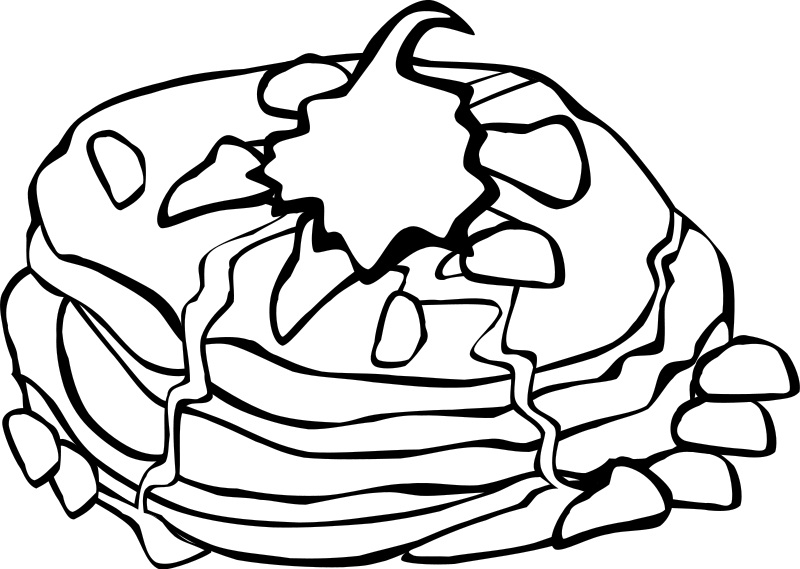 800x569 Free Printable Food Coloring Pages For Kids