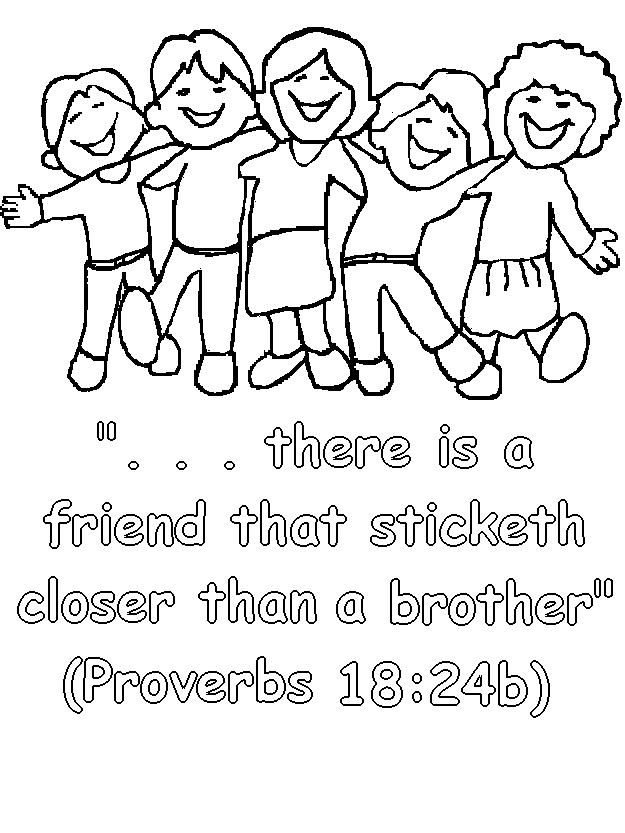 Coloring Pages Of Friends Together At GetDrawings Free Download