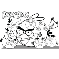 230x230 Top Free Printable Angry Birds Coloring Pages Online