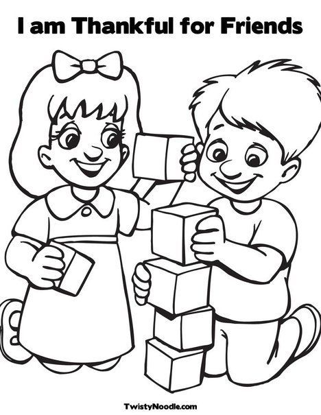 468x605 Friendship Coloring Pages For Preschool Friends Coling Pages F