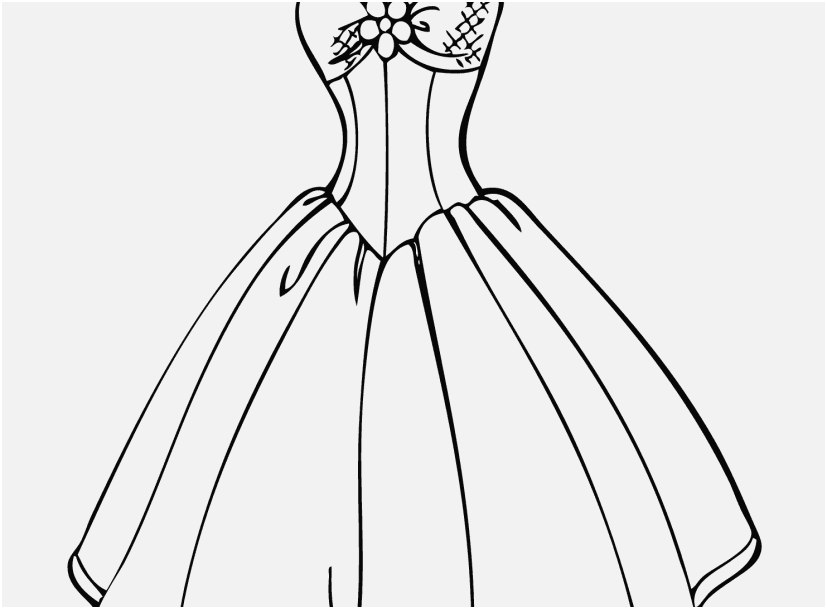 Coloring Pages Of Girls In Dresses